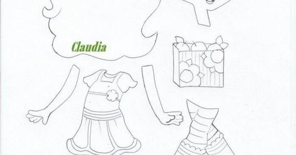 lindas manualidades: Rosa Fresita y sus amigas con moldes