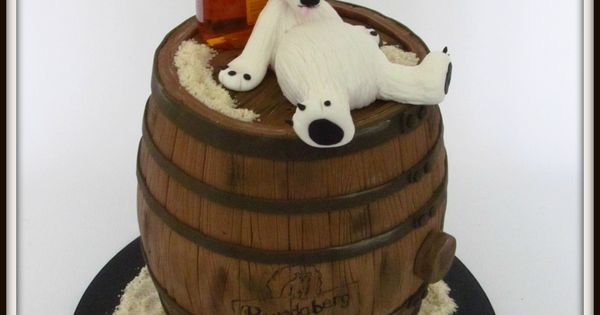 Bundaberg Rum And Bundy Bear Birthday Cake Birthday