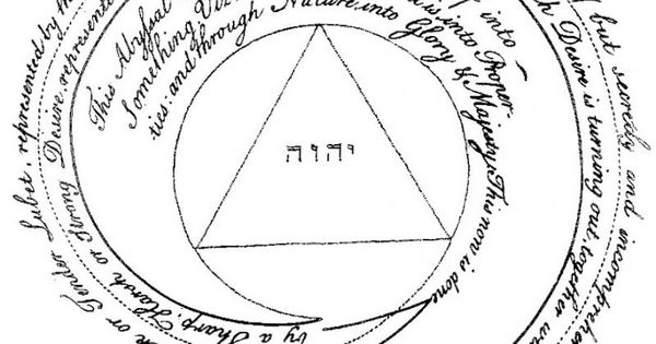 Jacob Boehme: The Trinity unmanifest; or rather, the