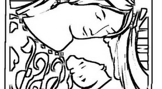 Use our Assumption Of The Blessed Virgin Mary coloring
