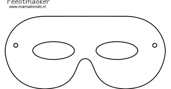 Maskers voor Jongens Knutselen