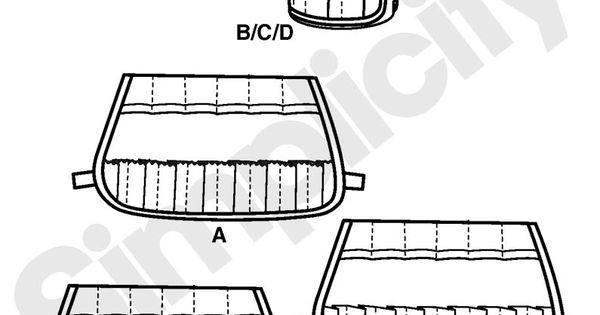 Buckets Gone Wild sewing pattern. Mug Bucket organizer