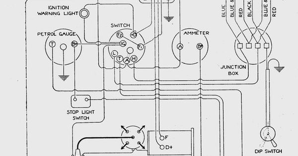The wiring diagram comes courtesy of the Cornwall A7 club