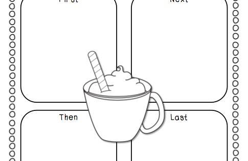 A Cupcake for the Teacher: Hot Chocolate {a Craftivity