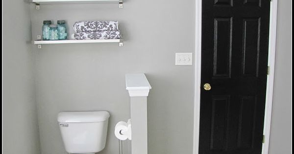Bathroom Makeover Paint Color Graceful Gray By Behr