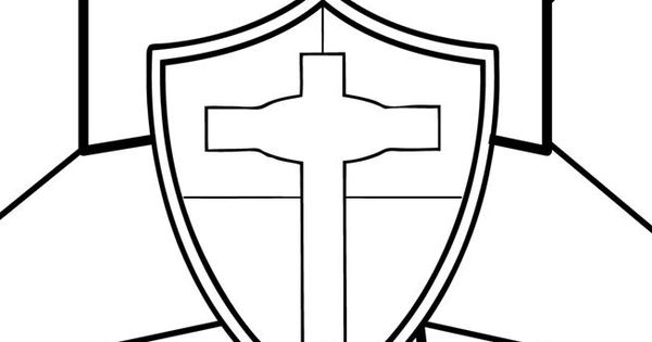 Shield Of Faith Worksheets And Sheets Coloring Pages