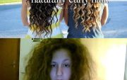 people with curly hair