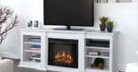 Real Flame Fresno Electric Fireplace TV Stand in White ...