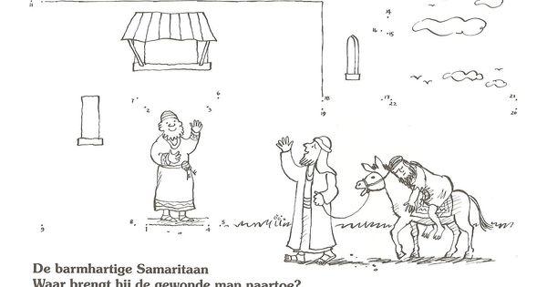 the Good Samaritan , where he brings the injured man go