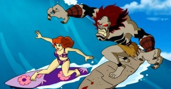 Aloha Scooby Doo Wiki Tiki Wipeout Daphne Blake My
