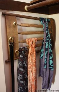 10 Best ideas about Scarf Rack on Pinterest