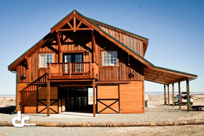 Barn with living quarters in laramie wyoming dc