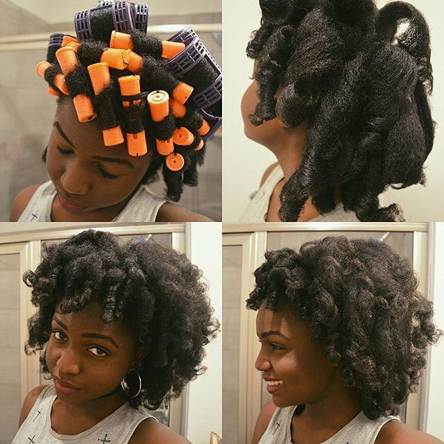 1000 Images About NATURAL HAIR ROLLER SET On Pinterest