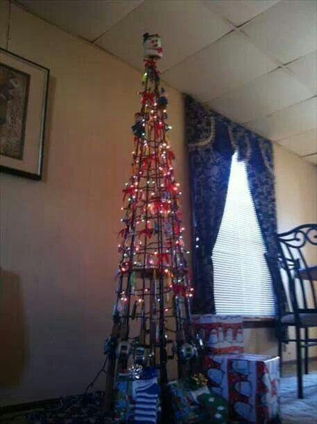 Fishing Pole Christmas Tree Christmas Trees