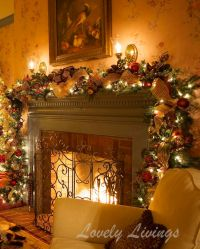 25+ Best Ideas about Christmas Fireplace Decorations on ...