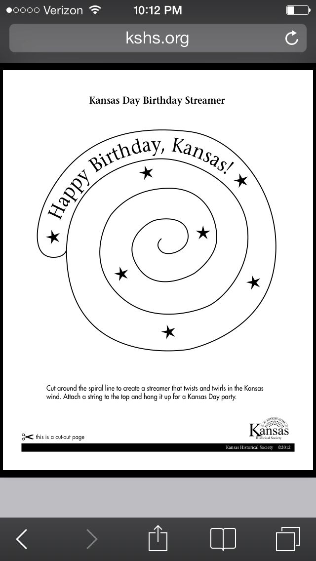 "Search Results for ""Kansas Symbols Coloring Activities"