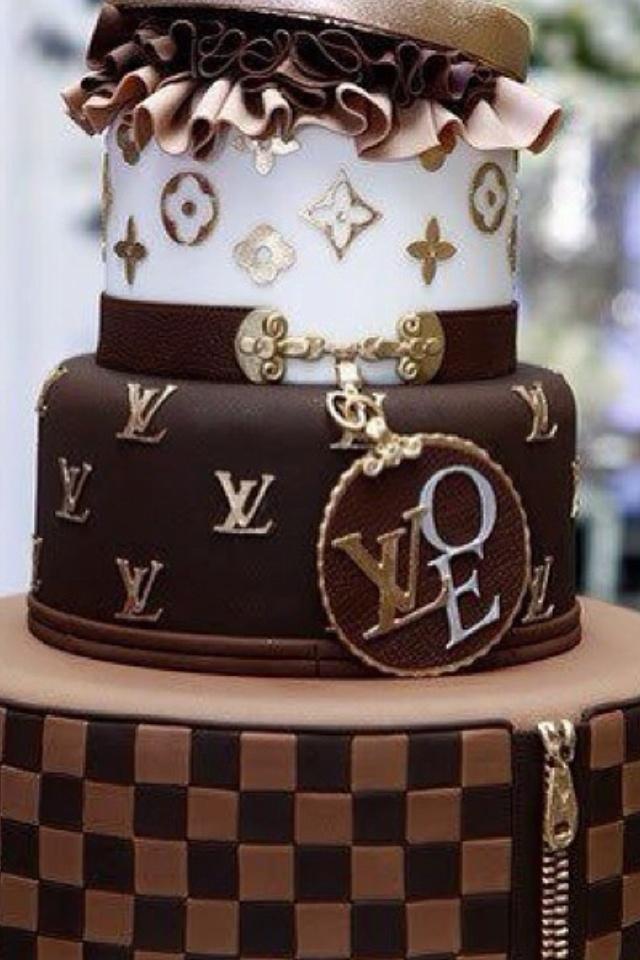Louis Vuitton Chocolate Cake Chocolate Cake Pinterest