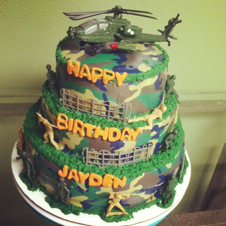 Camo Cake With Cake Tattoo Cakes Pinterest Cakes