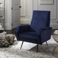 1000+ ideas about Navy Accent Chair on Pinterest | Accent ...