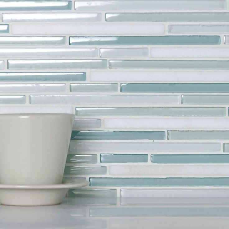 glass pencil blue and white blend  Tile Favorites