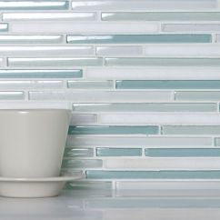 Glass Backsplashes For Kitchens Plastic Kitchen Trash Can Pencil Blue And White Blend | Tile Favorites ...