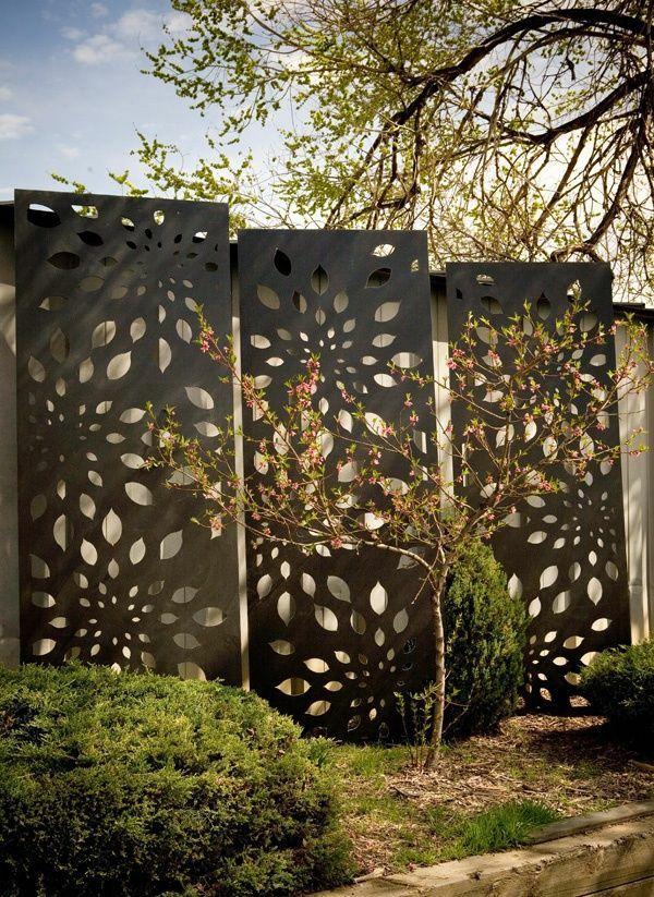 sichtschutz metall | sichtschutz, Garten und erstellen