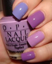 ideas purple nail