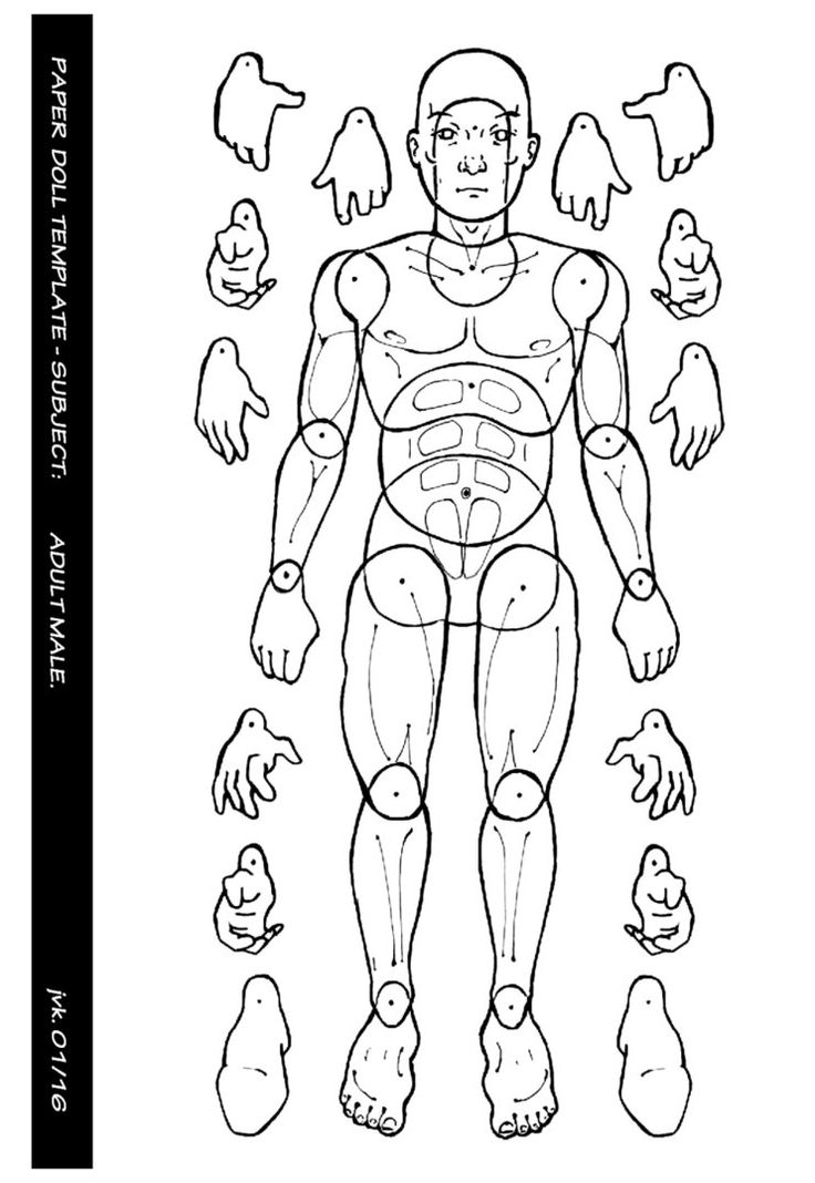 17 Best ideas about Paper Doll Template on Pinterest