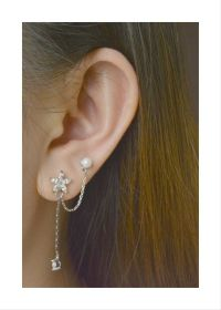 Best 25+ Double pierced earrings ideas on Pinterest