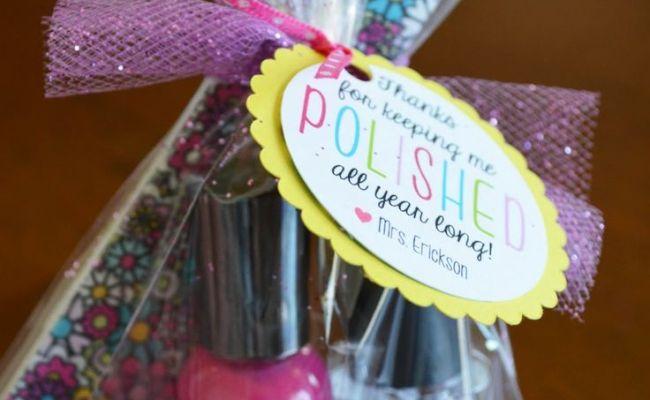 Visiting Teachers Gifts Nail Polish End Of Year Teacher