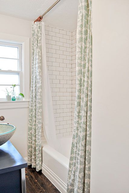 25 Best Ideas About Double Shower Curtain On Pinterest Elegant