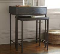 Woodrow Metal Nesting Bedside Table | Pottery Barn. 24 ...