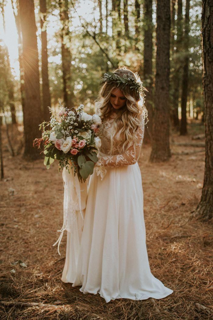 25 best ideas about Boho wedding dress on Pinterest