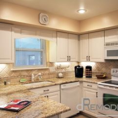White Kitchen Cabinets For Sale Ticket Printer Creamy Kitchen, Color In Counter Give Warmth, And ...