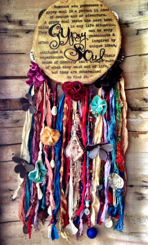 Gypsy Soul Tambourine Vinyls Texts And Wanderlust