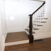 Timeless White Oak stair treads and White Oak #2 common ...