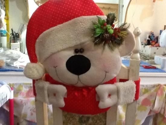 christmas elf chair covers single weather top 25 ideas about forros para sillas de navidad on pinterest | patrones, natal and