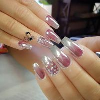 17 Best images about chrome nail art on Pinterest