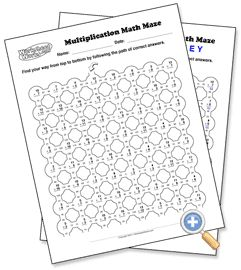 Design your own, Math and Maze on Pinterest