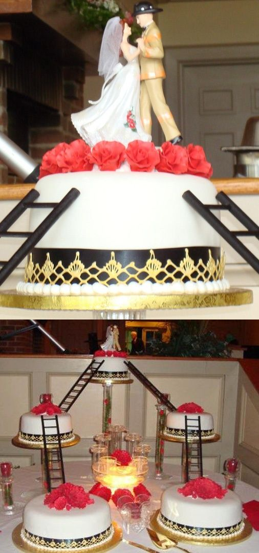 25 Best Ideas about Firefighter Wedding Cakes on Pinterest  Firefighter grooms cake