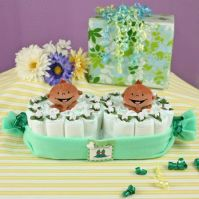 Two Peas In A Pod Theme Twins Baby Shower Ideas