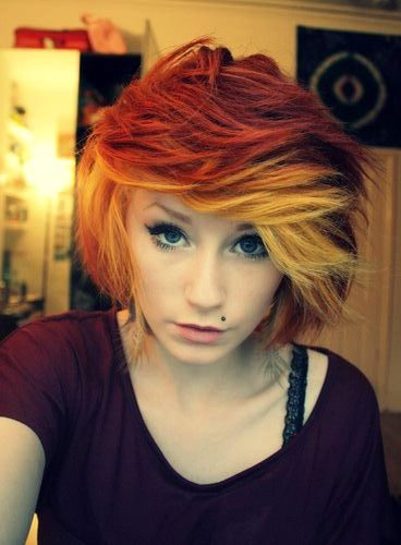 The 67 Best Images About Hair On Pinterest Funky Hair My Hair