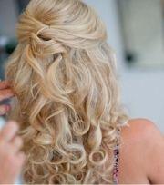 1000 ideas curly bridesmaid