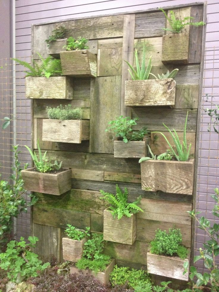 7 Best Images About Vertical Garden Boxes On Pinterest Gardening
