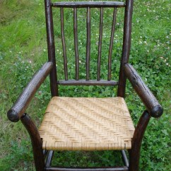 Dining Chairs With Caning Steelcase Office India Rustic Hickory Chair Reed Splint Seat   Pinterest And