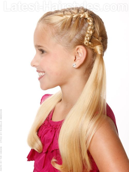 94 Best Images About Kid Hairstyles On Pinterest Fall Hairstyles