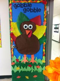 17 Best ideas about Thanksgiving Classroom Door on