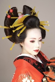 geisha hair ideas