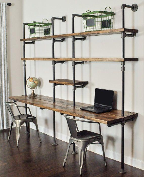 Best 25 Industrial desk ideas on Pinterest  Industrial