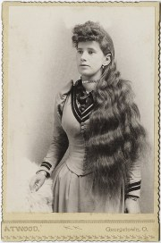 hairstyle of late 1800's